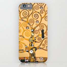Gustav Klimt Tree Of Life iPhone Case