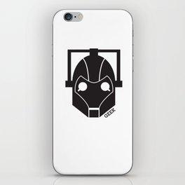 Cyberman iPhone Skin
