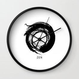 Zen Enso Circle Wall Clock