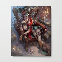 Magician Millenia Metal Print