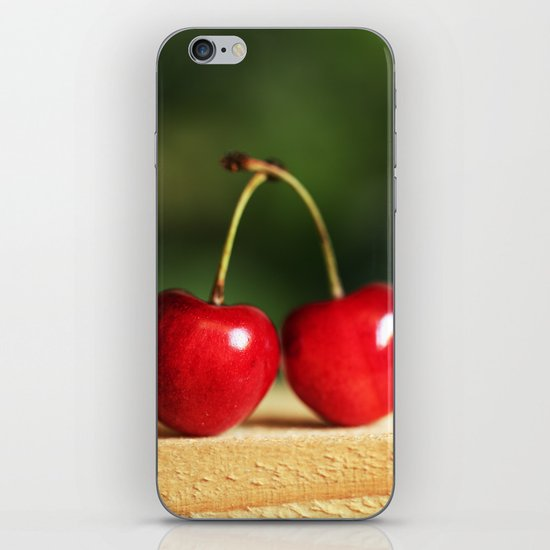 Sweet cherries iPhone & iPod Skin