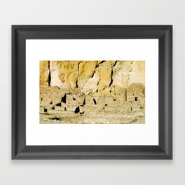 Chaco Canyon, NM Framed Art Print