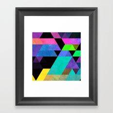 blykk slypp Framed Art Print