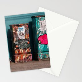 The three boxes. Stationery Cards