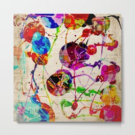 Abstract Expressionism 2 Metal Print