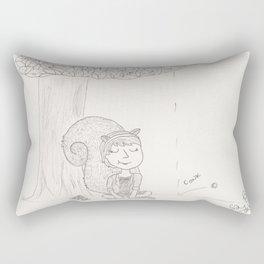 Squirrel Girl - Chestnut Season Rectangular Pillow