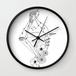 // Sagittarius // Wall Clock