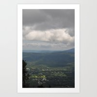 vermont Art Prints featuring Vermont by nibs
