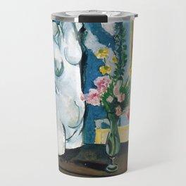 The Plaster Torso - Henri Matisse - Exhibition Poster Travel Mug