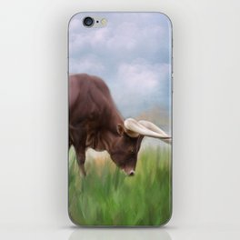 How Now Brown Cow iPhone Skin