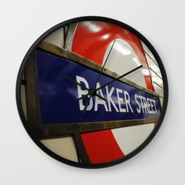 Baker Street Station Wall Clock