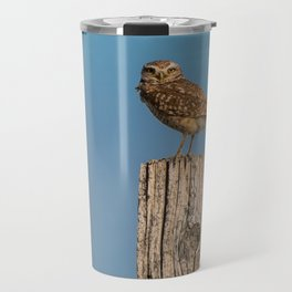 Burrowing owl Travel Mug