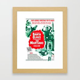 Santa Claus Conquers The Martians Framed Art Print
