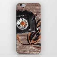 photographer iPhone & iPod Skins featuring photographer by Olga FoxFang
