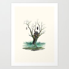 Treehouse of Horror Art Print