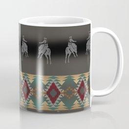 southwest stripe with horses Coffee Mug