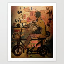 Cruising {care-free} tsoL Art Print