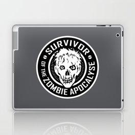 Survivor of the Zombie Apocalypse Laptop & iPad Skin