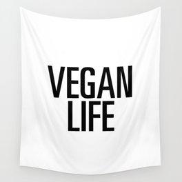 Vegan life Wall Tapestry