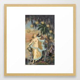 THE START MAJOR ARCANA Framed Art Print