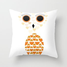 Owls Just Want to Have Fun No.4 Throw Pillow