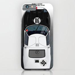 Ken Miles + Lloyd Ruby GT40 iPhone Case