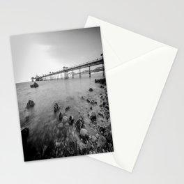 Llandudno Peir Bw Stationery Cards
