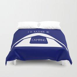 Tent Camping Duvet Cover