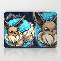 eevee iPad Cases featuring 133- Eevee by Lyxy