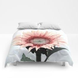 Pink Sunflower Comforters