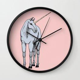 The Unicorn Lilla Wall Clock