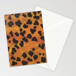 Leopard Print #2 Stationery Cards