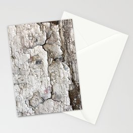 White Decay I Stationery Cards