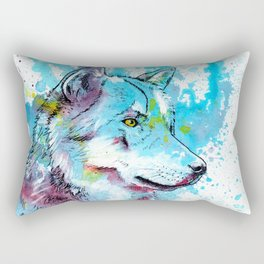 Wild Wolf Rectangular Pillow