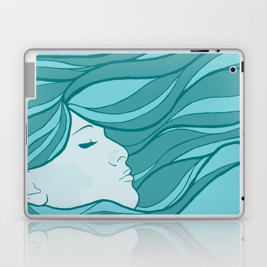 Deep Under Water Laptop & iPad Skin