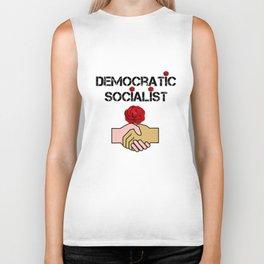 Democratic Socialists Of America Biker Tank