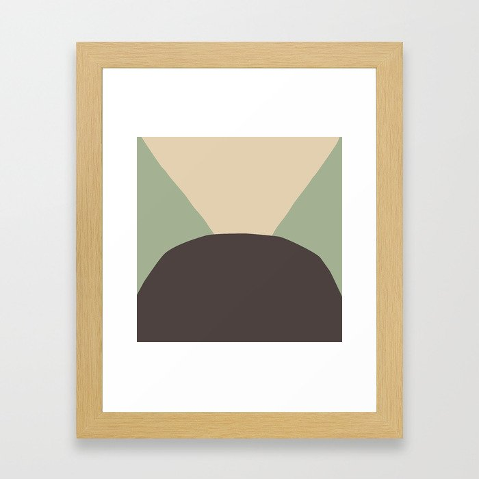 Deyoung Chocomint Framed Art Print