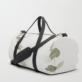 Minimalist Zen Green Plant Scandinavian House Plant Photo Duffle Bag
