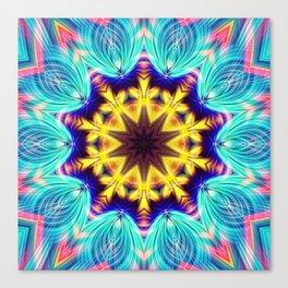 Utra Ornament star Canvas Print