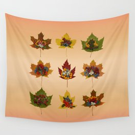 "Autumn ""tapas"" Wall Tapestry"