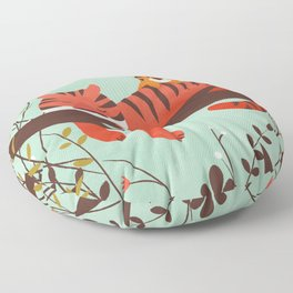 Sleeping Tiger Floor Pillow