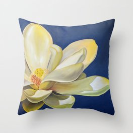 Lotus Square New Throw Pillow