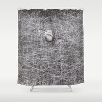 stone Shower Curtains featuring Stone by Erwin Nas