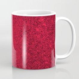 Rose Zircon Sparkling Jewels Pattern Coffee Mug