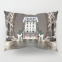 The Vintage Street - A Old Montreal Street Pillow Sham