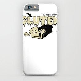 Gluten Scares Me iPhone Case