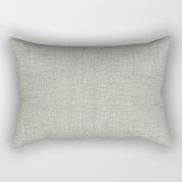 DESERT LINEN MUDCLOTH . GRANITE Rectangular Pillow