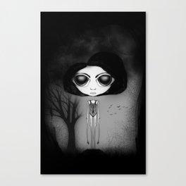 Dark Watter Canvas Print