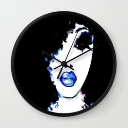 Blue Like Morning Wall Clock