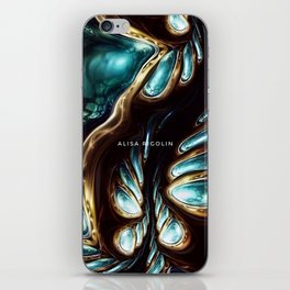 Emerald Jungle iPhone Skin